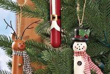 Santa ornamenti
