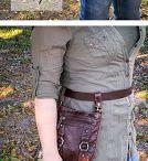 belt purse diy