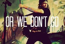 Pierce the Veil / My love for you was bulletproof, But you're the one who shot me.