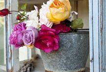 Arty flowers