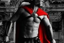 Gladiators and warriors