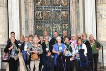 Pilgrimage Groups / Some of the hundreds of Catholic groups we've sent on pilgrimage since 1996.