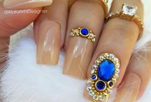 Nails / Amazing nail designs matching your outfits and makeup. See our most beautiful nail photos to get extra beauty.
