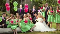 Rocking Bridal Wedding / Below are ten colors mixes which can work ideally for your bridal party together with the day's couple: