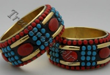 Metal Bangles / Metal Bangles - fashion jewelry