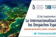 Internacionalización CGAE / La internacionalización de los despachos españoles Madrid 23.09.15