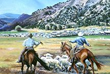 Western Art Paintings by Nancee Jean Busse Artist / Western Art Paintings by Nancee Jean Busse Artist