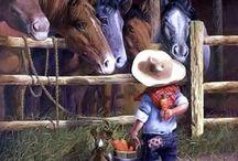 Как быстро время летит...когда то и мы кормили лошадок!