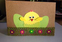 My cards- easter/ les cartes pour Paques
