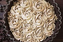 Coffee chocolate tart
