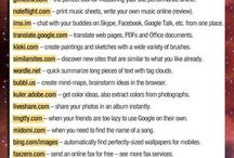 Very useful websites