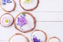 edible flowers bickie