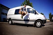 Sprinter Van Living / Cool links regarding van living and Sprinter vans.