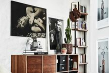Retro interior design / 50's/60's/70's interior design