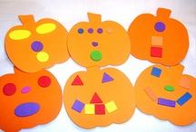 Preschool Fall Activities / Thanksgiving, Apples, Pumpkins, Halloween / by Angela Spanhak