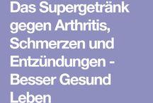 Getränk gegen Arthritis
