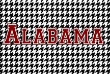 BAMA / 15 National Championships ... And counting!  Legendary Coach Bear Bryant was at the helm when I was born and he was an amazing coach who commanded respect. (I went to UA during Curry days.) It is uncanny how much Coach Saban Nick Saban is like Coach Bryant.  They are two of the greatest football coaches EVER!  I'm a Nick Chick and proud to be part of the Sabanation.  What else can I say?  ROLL TIDE ROLL, BABY!!!  (Btw: I created another board for all of the 'Bama YouTube clips.) / by Ang