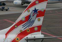 Aircraft Tail Art
