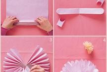Decoraciones de papel
