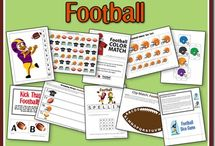 Football / by Sierra @ H is for Homeschooling