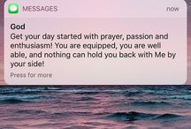 Text from god