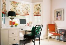 HOME OFFICE IDEAS / beautiful home office design ideas. / by cristin priest | simplified bee