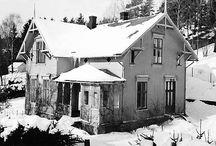 Villa Solstua, eksteriør / Living in old house in Norway