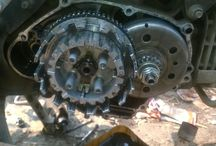 Clutch / Modification motocycle, auto clutch to be manual clutch