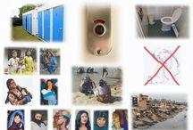 Gezonde sanitatie is belangrijk / Iedereen in de wereld heeft recht op gezonde sanitatie