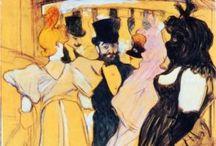 ART - Henri de TOULOUSE-LAUTREC(1864 - 1901)