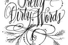 handwriting / by Diane Reid