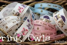 Exclusive to Craftyribbons / Specially printed ribbon exclusive to us.