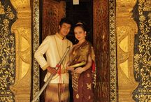 Lao Sinh Couture Collection / Lao traditional sinh, hand woven silk