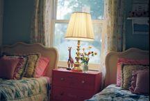 bedrooms / by Susan Ator