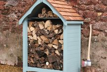 Log stores / Log Stores from The Handmade Garden Shed Company
