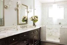 Bathrooms / Ideas for a beautiful bathroom.  / by crafty texas girl