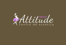 Spaço Attitude - Centro de Estética / Criação e desenvolvimento de Identidade visual e peças publicitparias.