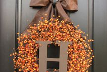 Thanksgiving-Fall decor