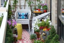 Cozy Balconies, Patios & Porches