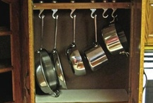 cabinet storage / by Chelsea
