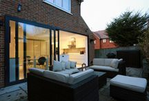 Bushey - recent kitchen extension project / Making the most of your space, see this wonderful indoor and outdoor room...