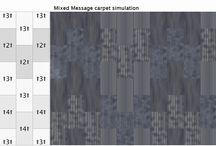 Surface Tiler by Jhane Barnes / Carpet Tile Layout Ideas