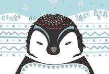 Penguins / by Kime Kinsman