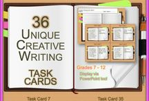 Creative Writing Activities / Classroom activities that foster creative writing for middle school and high school students!