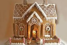 Get creative with Gingerbread / I love gingerbread and am amazed by some of these creations.