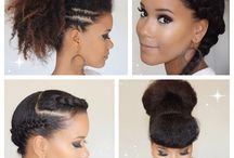 Natural Hair Don't Care / Beautiful natural styles