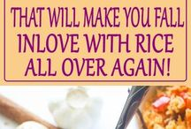 Rice recettes