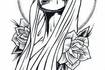 dibujo.tattoo.ilustraciones