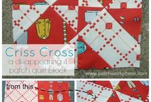 4 Patch / 9 Patch disappearing Quilt