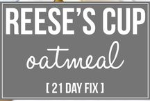 Reese's oatmeal